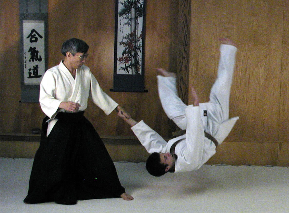 Demonstration of Aikido Technique