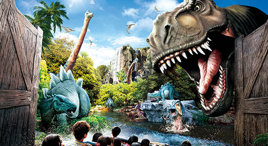 Jurassic Park – The Ride