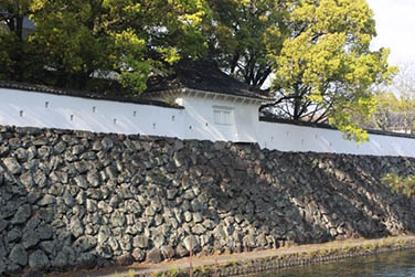 typical Fence of Japanese Castle