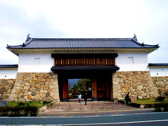 Typical Gate of Japanese Castle
