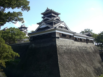 Typical Guard Tower of Japanese castle