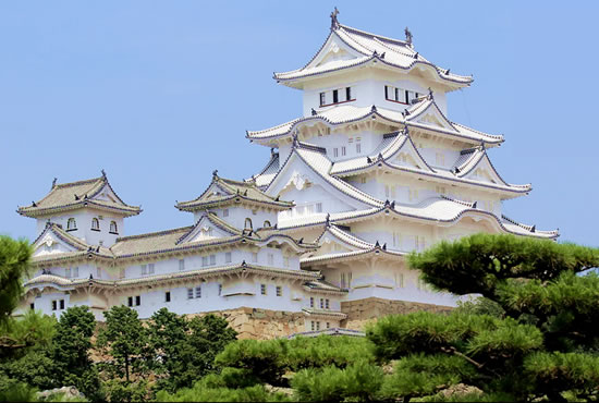 Himeji Castle after the repair