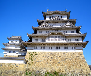 Typical Maintower of Japanese Castle