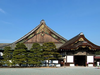 typical Palace of Japanese Castle