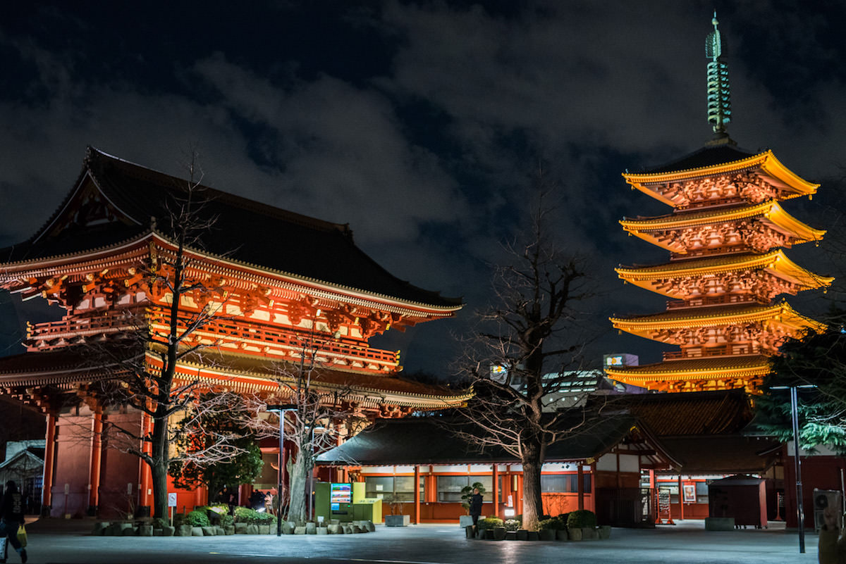 Sensoji-temple is one of the example of syncretization of Shinto and Buddhism