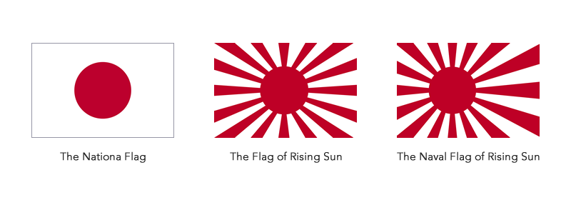 The Various National Flags of Japan