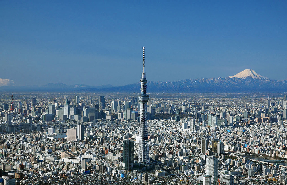 Tokyo Skytree, one of the tallest tower in the world
