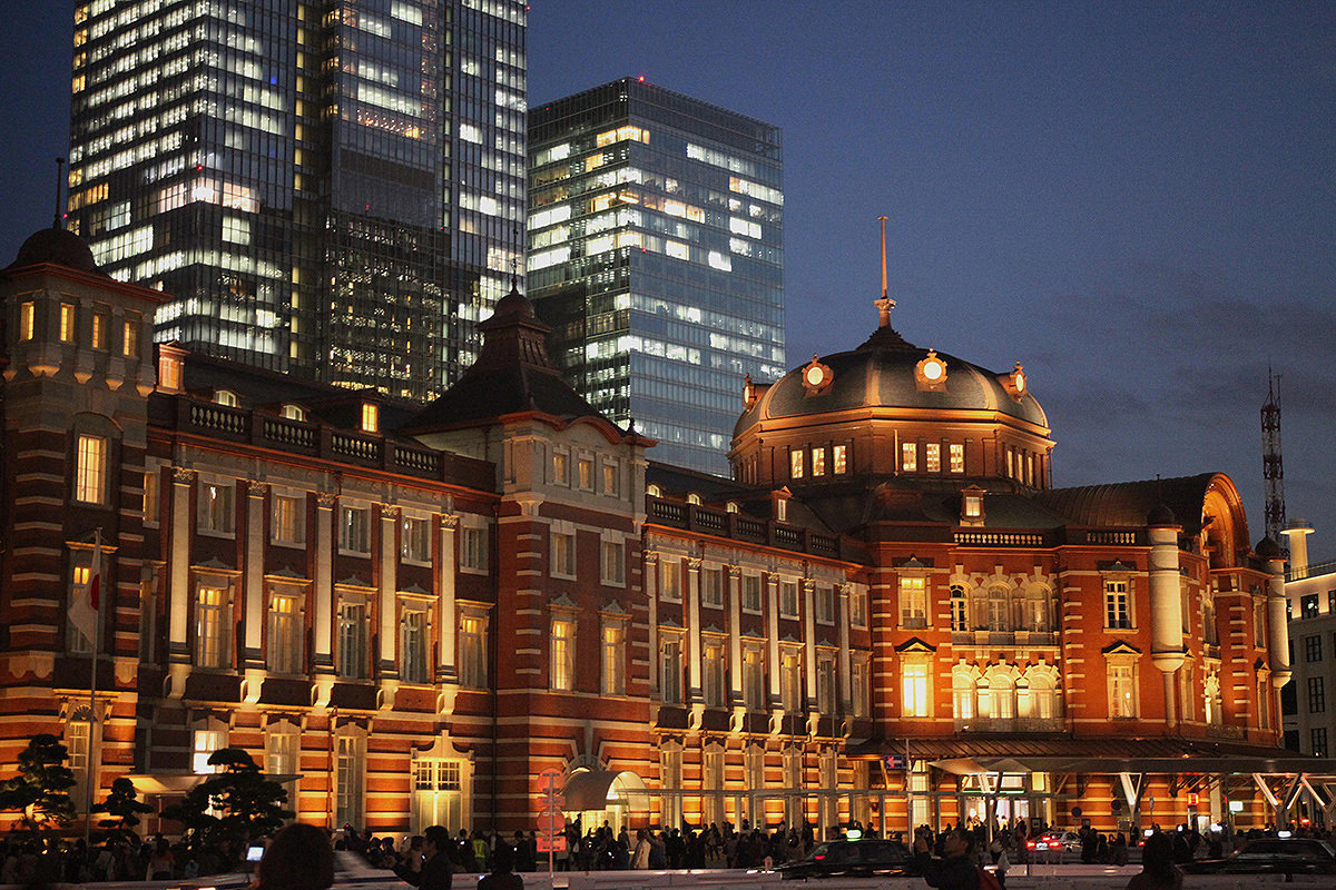 Reconstruction of Tokyo station building from Taisho period