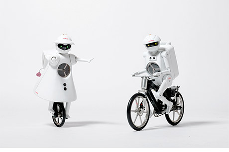 Unicycle and Bicycle Robot