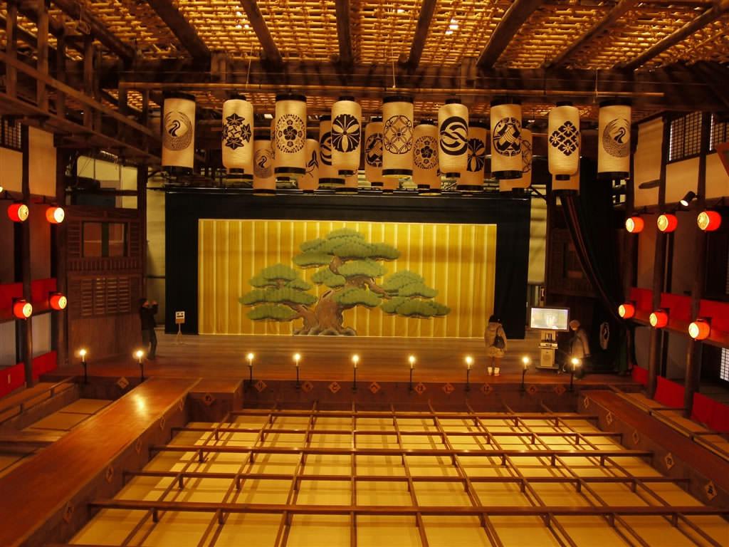 Сцена театра кабуки картинки