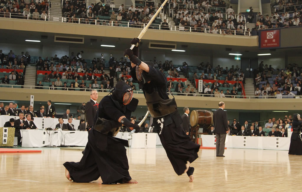 Kendo Match in Japan