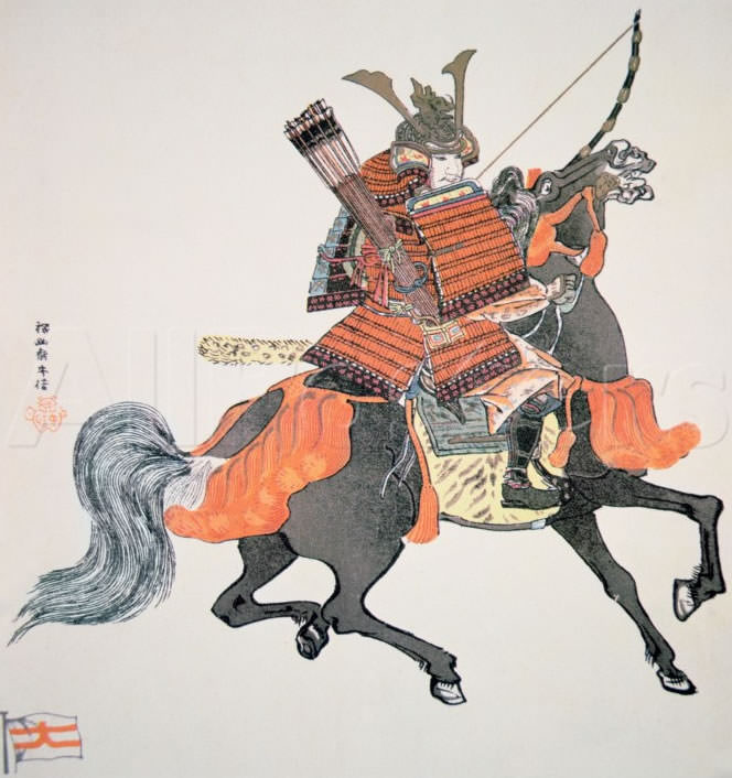 Samurai carrying Wakyu