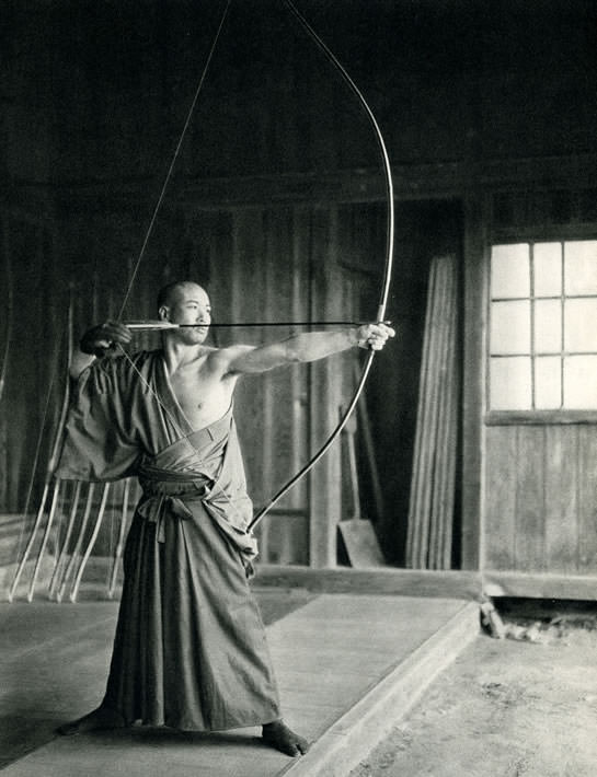 kyudo in old photo