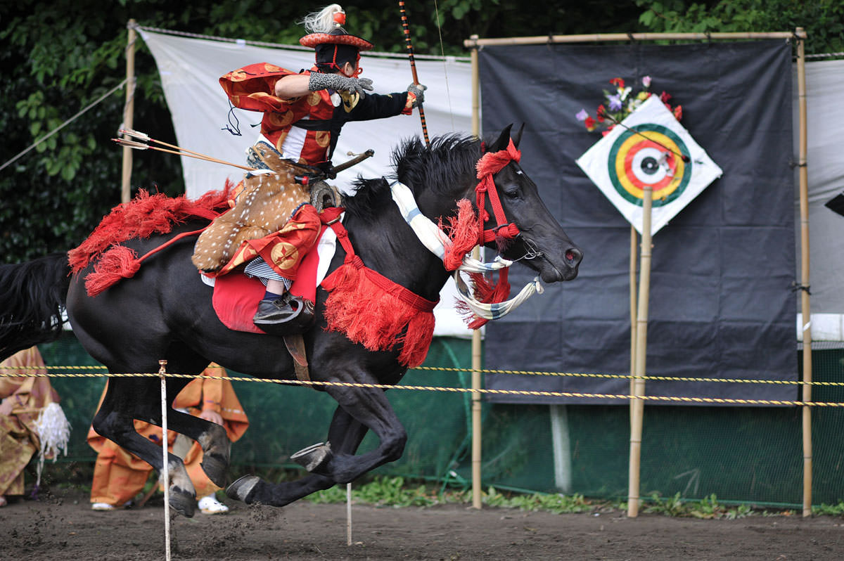 Yabusame, Traditional Horseback Archery of Japan