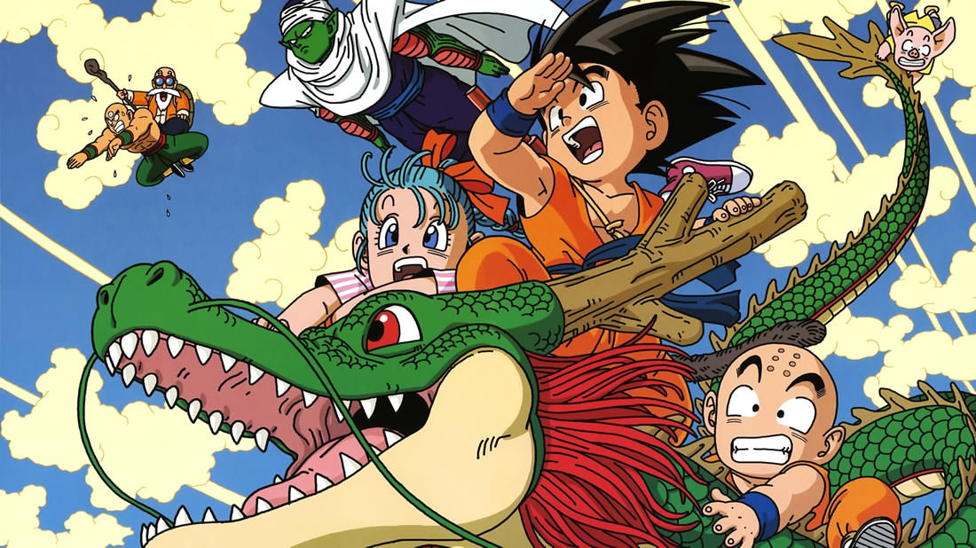 Manga Art of 'Dragon Ball'