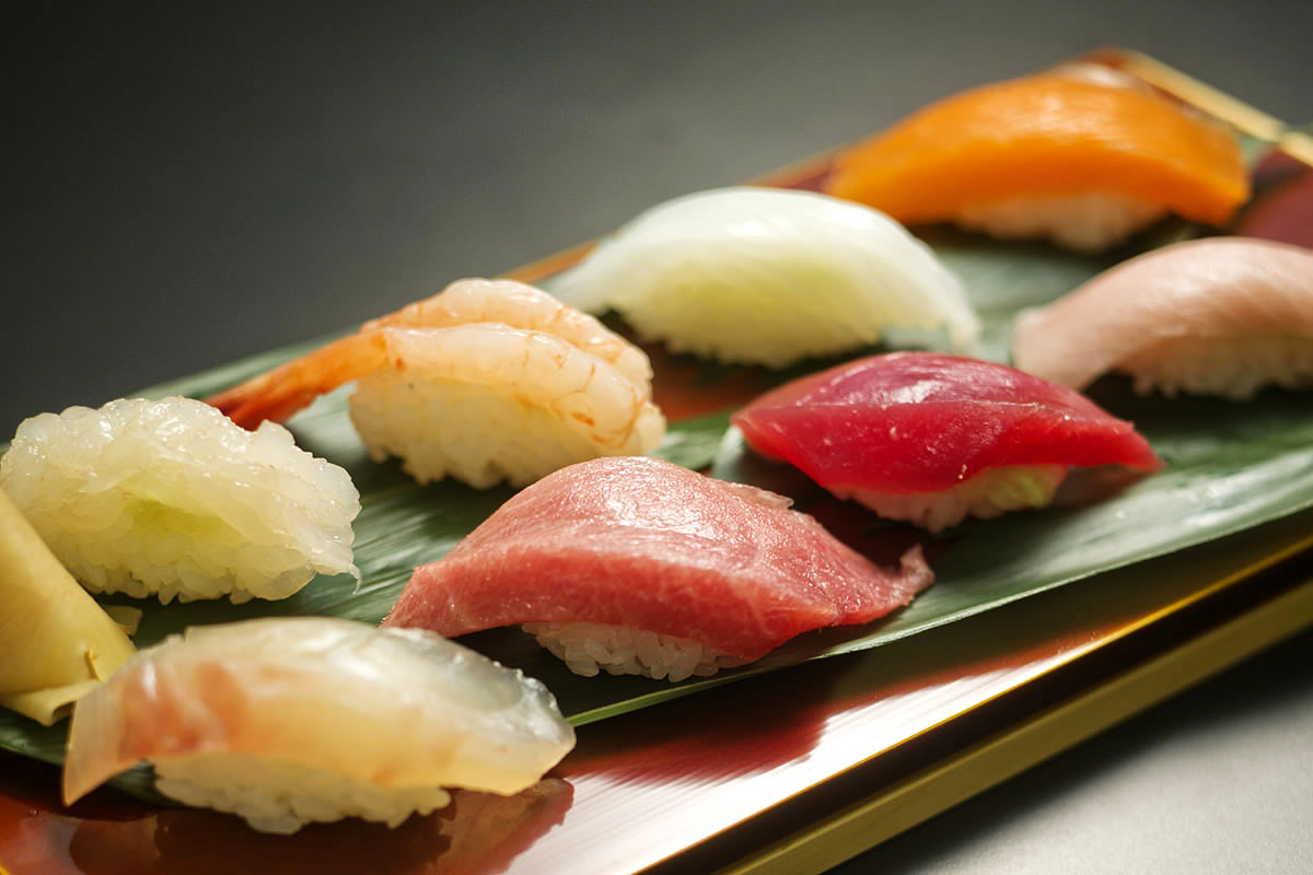 Sushi is regarded as an food art